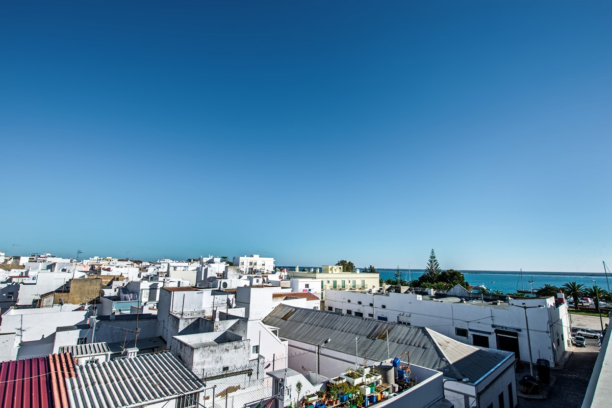 Check out the amazing roof tops in Olhao