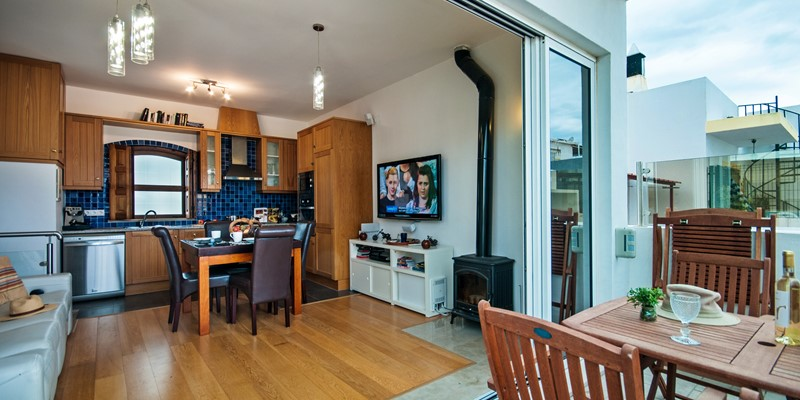 How wonderfull open plan just a fantastic holiday home