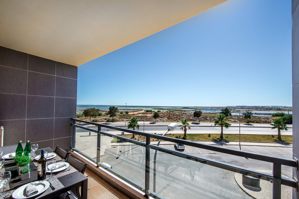 Looking out to the stunning sea views